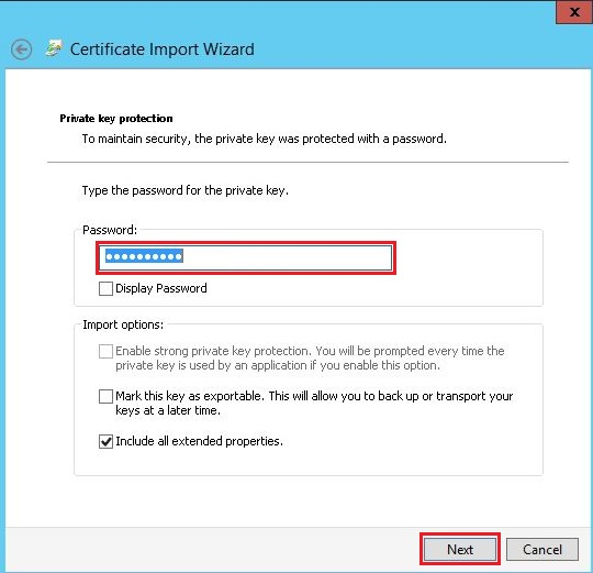 How to manually install an SSL certificate in IIS 8 5