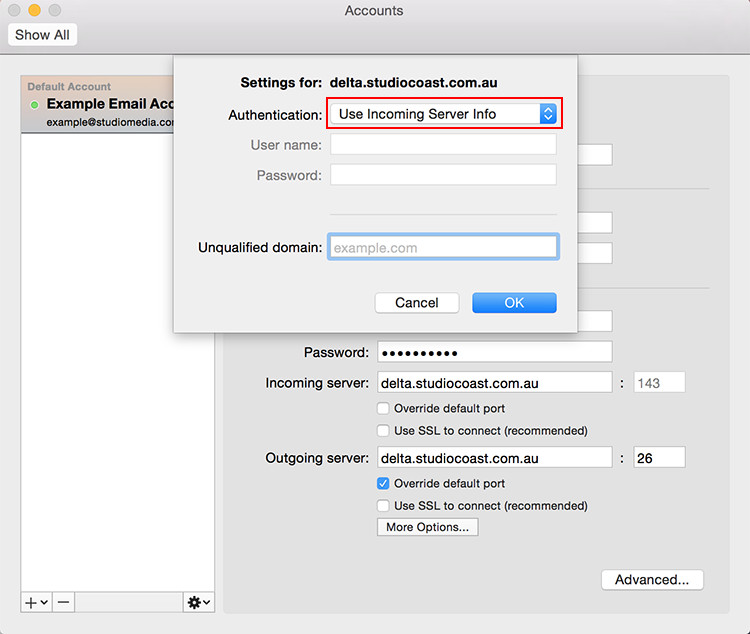 how to change your x11 server mac